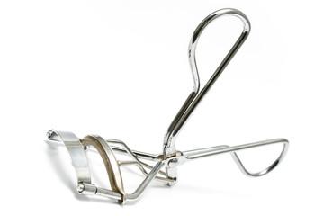 Macro of eyelash curler