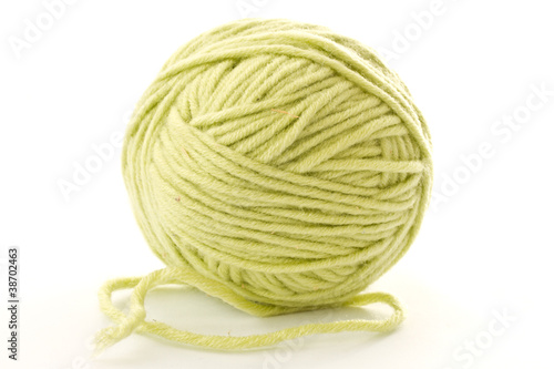 ball of woolen threads