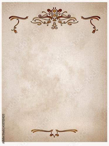 Oldpaper *Ornamente*