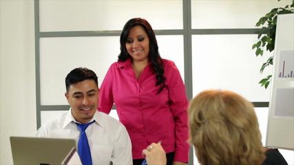 Business Team Smiles