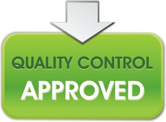 bouton quality control approved