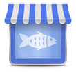 Fish Shop Button