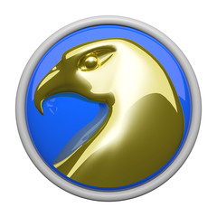Gold Eagle Icon
