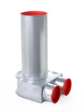 Recuperation pipe fitting