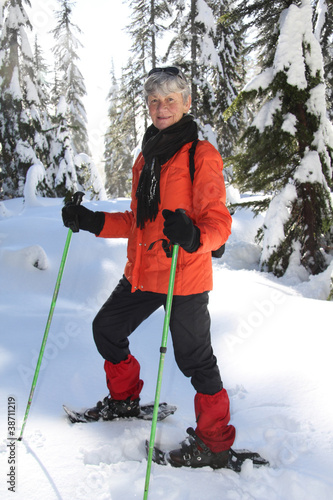 Snowshoeing retirement