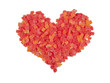 Red Heart, Composed Of Sweet Candied fruit