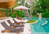 Fototapety beach chairs