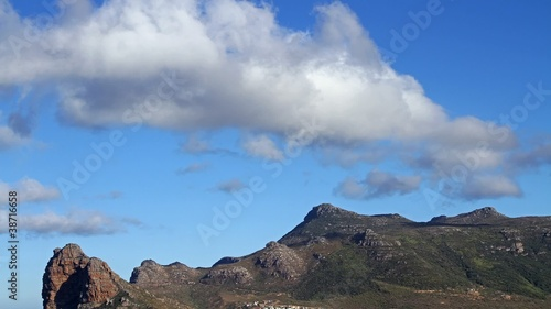 Time lapse of clouds, Hout Bay, Western Cape, South Africa