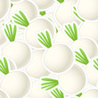 Onions group. Seamless background