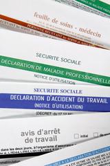 Formulaires administratifs assurance maladie
