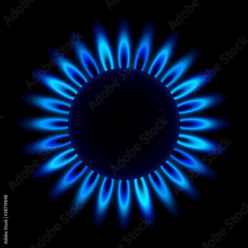 gasflamme von oben III
