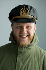 Young bearded sailor