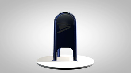 Animated Rotating Mailbox