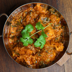Indian Chicken Saag Massala Curry
