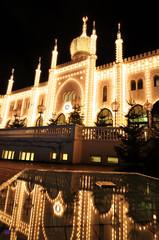 Oriental palace