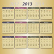 Calender 2013, english version