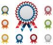 Vector award badges set