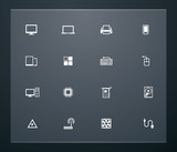 Universal glyphs 25. Computers