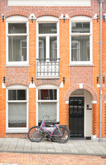 Early 1900s building in Amsterdam, the Netherlands