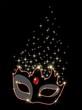 Maschera Carnevale Rubino-Ruby Carnival Mask-Vector