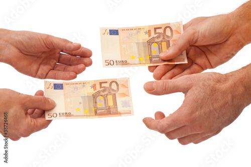 Geben und Nehmen - Gegenseitig Geld schenken - Finanzausgleich