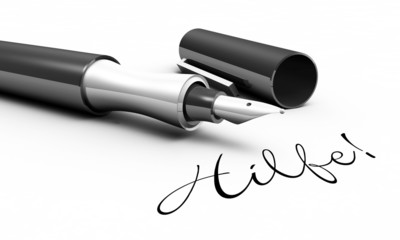 Hilfe! - Stift Konzept