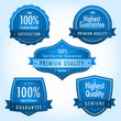 Blue quality guarantee label collection vol.2