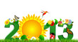 2013, the sun garden
