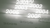 Glowing Numbers Timeline: 2000s and 2010s