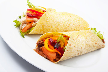 burritos messicani