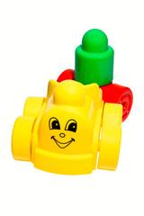 Детский веселый паровозик