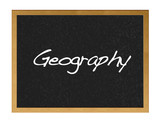 Geography. poster