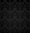 Wallpaper pattern black, seamless