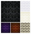 Seamless pattern six colors