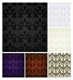 Seamless pattern six colors