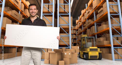 Entrepôt, stockage archive, message 02
