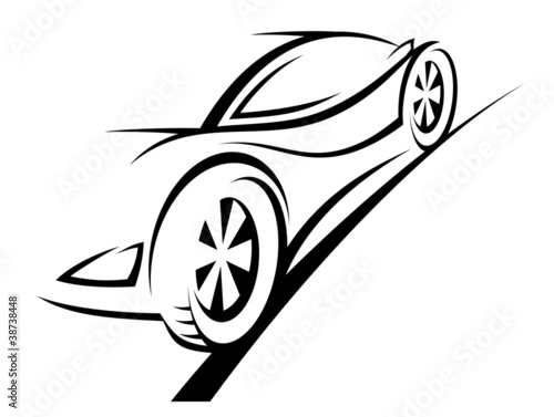 Sport car © Vector Tradition