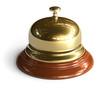 Golden reception bell
