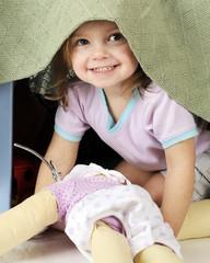 Peek-a-Boo Preschooler