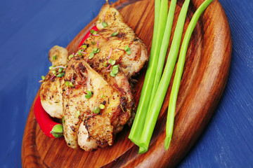 grilled meat : chicken