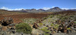 Panoramic mountains in the island of Tenerife