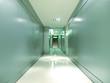 Corridor in modern building