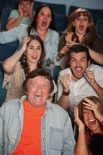 Horrified Audience