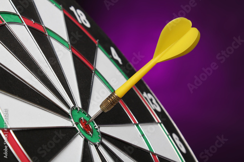 Dartboard bull´s eye.
