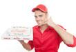 Leinwanddruck Bild - pizza