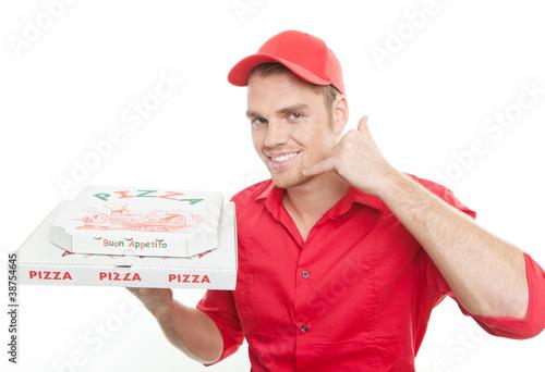 Leinwanddruck Bild pizza