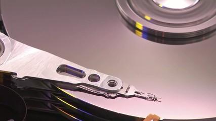 hard disk running
