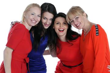 Portrait of four adult women