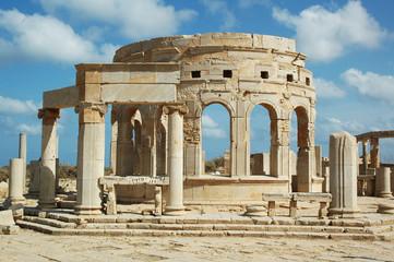 Il mercato di Leptis Magna