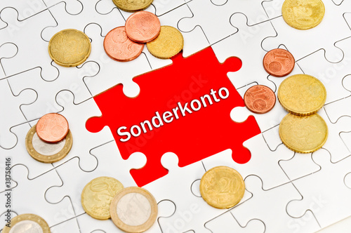 Sonderkonto Euro
